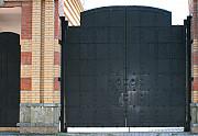 Ворота металлические распашные доставка из г.Киев