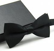 Бабочка классическая черная доставка из г.Николаев