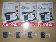 Карта пам'яті SanDisk Ultra 128 Gb microSDXC UHS-I Card with Adapter Броды