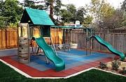 Плитка резиновая для пола и детских площадок. Бровары