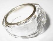 Кольцо Swarovski из серебра с кристаллом доставка из г.Львов