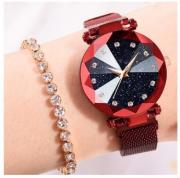 Часы женские Starry Sky Watch с магнитным ремешком водонепроницаемые доставка из г.Лисичанск