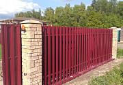 Ворота металлические откатные доставка из г.Киев