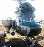 Розкидання азотних добрив вертольотом гвинтокрилом Львов