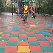 Изготовление резиновой плитки для детской площадки. Бровары