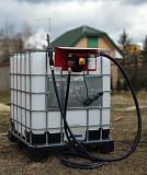 Качественный заправочный модуль на еврокуб для дизельного топлива АЗС Луцк