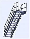 Лестницы металлические промышленные доставка из г.Киев